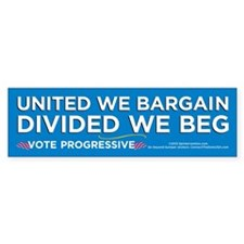 United We Bargain (10-Pack Stickers)