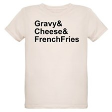 Poutine Ingredients T-Shirt
