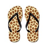 Giraffe Flip Flops
