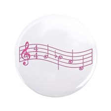 "Pink ""Rue's Whistle"" 3.5"" Button"