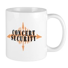 """CONCERT SECURITY"" Mug"