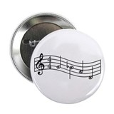 "Black ""Rue's Whistle"" 2.25"" Button"