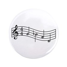 "Black ""Rue's Whistle"" 3.5"" Button"