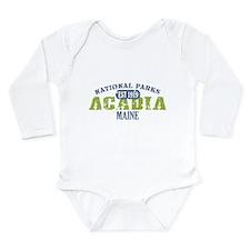 Acadia National Park Maine Long Sleeve Infant Body