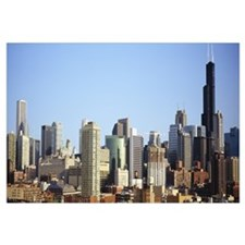 Buildings in a city, Chicago, Illinois