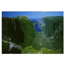 High Angle View Of A Plateau, Gros Morne National