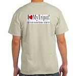 Stop VAS/I Love My VAS Tripod 2-Sided Grey T-Shirt