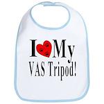 I Love My VAS Tripod Bib