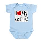 I Love My VAS Tripod Infant Creeper