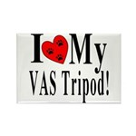 I Love My VAS Tripod Rectangle Magnet (10 pack)