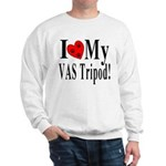I Love My VAS Tripod Sweatshirt
