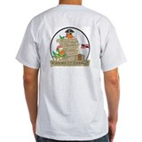 Parrots of the Caribbean Ash Grey T-Shirt