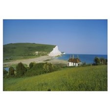 House at the coast, Seven Sisters, East Sussex, En