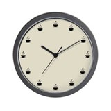 Cuppa Time Wall Clock