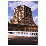 Low angle view of a palace, Royal Palace, Thanjavu