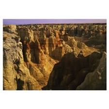 High angle view of cliffs, Coconino Sandstone, Coa