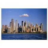 Buildings at the waterfront, Manhattan, New York C