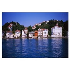 Buildings at the waterfront, Kanlica, Bosphorus, I