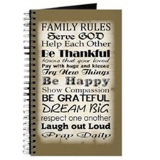 Family rules God Journal