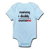 Mommy plus Daddy Onesie