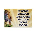 Solar Power Rectangle Magnet