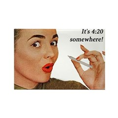 4:20 Fridge Magnet