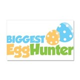 Easter Boy Biggest Egg Hunter Car Magnet 20 x 12