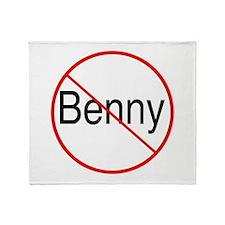 Bennies Throw Blanket