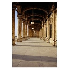 Colonnade at a mosque, Mosque Of Muhammed Ali, Cai