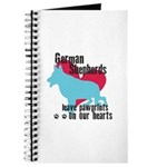 German Shepherd Pawprints Journal