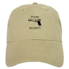PRIVATE SECURITY Baseball Cap Mania Humor