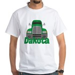 Trucker Dakota White T-Shirt