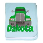 Trucker Dakota baby blanket