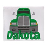 Trucker Dakota Throw Blanket