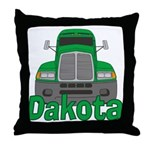 Trucker Dakota Throw Pillow