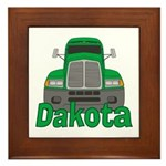 Trucker Dakota Framed Tile