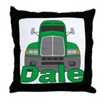 Trucker Dale Throw Pillow