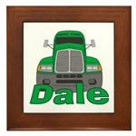 Trucker Dale Framed Tile