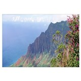 High angle view of a cliff, Kalalau Valley, Kauai,