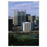 Buildings at the waterfront, Monongahela River, Pi