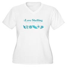 iLS cp tee aqua2 Plus Size T-Shirt