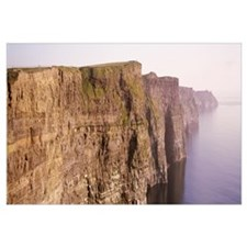 Rock formations at the coast, Cliffs Of Moher, Cou