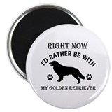 Golden Retriever Dog Breed Designs Magnet