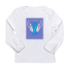 Trisomy 18 Angel Boy Long Sleeve Infant T-Shirt