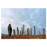 Rocks on a landscape, Callanish Standing Stones, L