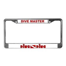 Cute Diving License Plate Frame