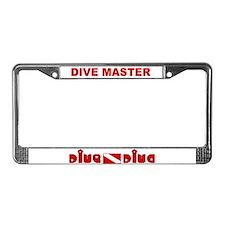 Unique Diving License Plate Frame