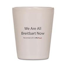 Breitbart Shot Glass
