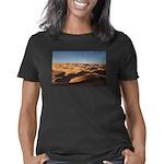 Happy Dubstep Face Organic Women's T-Shirt (dark)