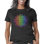 Happy Dubstep Face Long Sleeve Dark T-Shirt